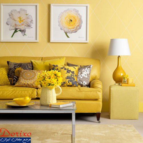 دکوراسیون رنگ زرد/رنگ اصلی