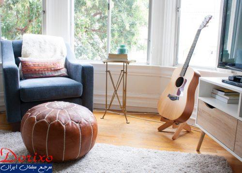 دکوراسیون داخلی با گیتار