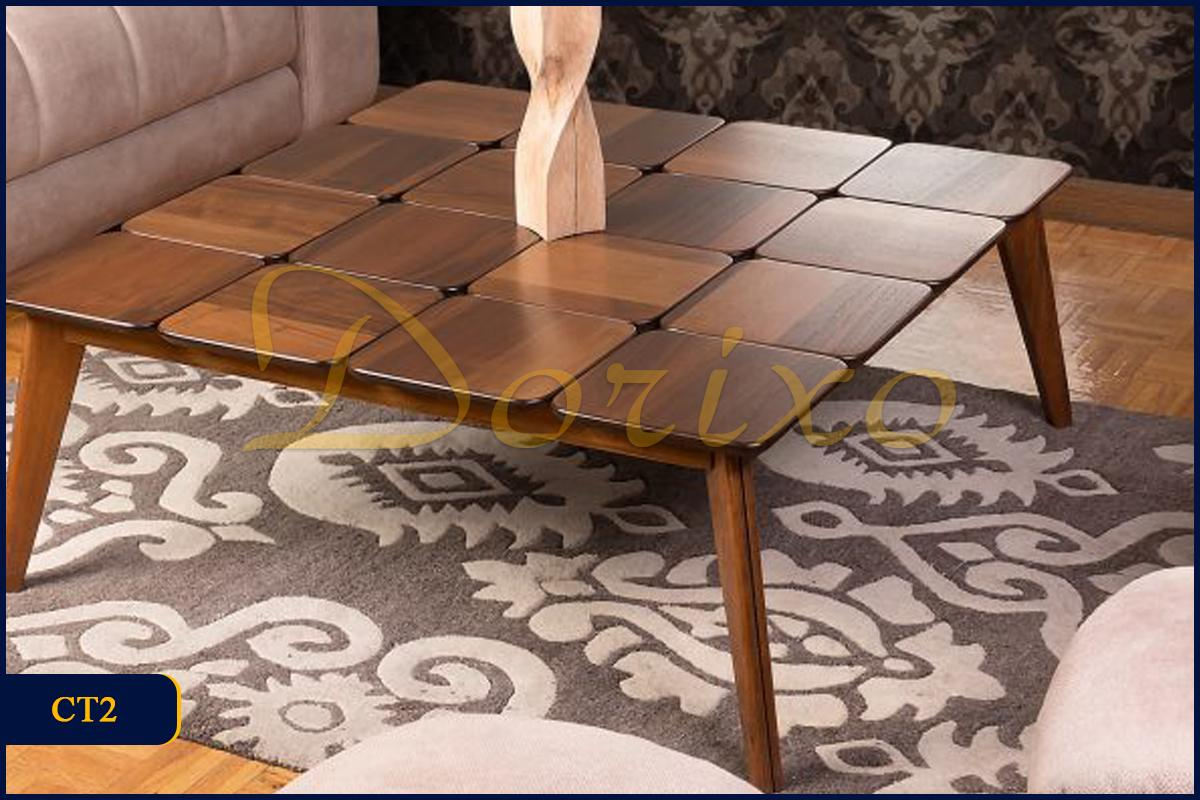 CT2. 1 - میز جلو مبلی (مربع) CT2